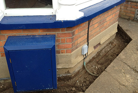 New damp proof course suffolk