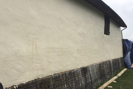 Durable lime plaster